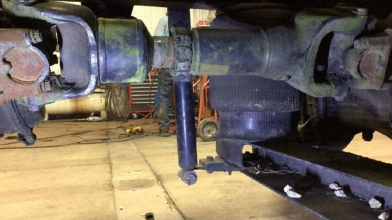 Drive shaft repair