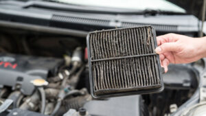 Dirty air filters affect Gas mileage